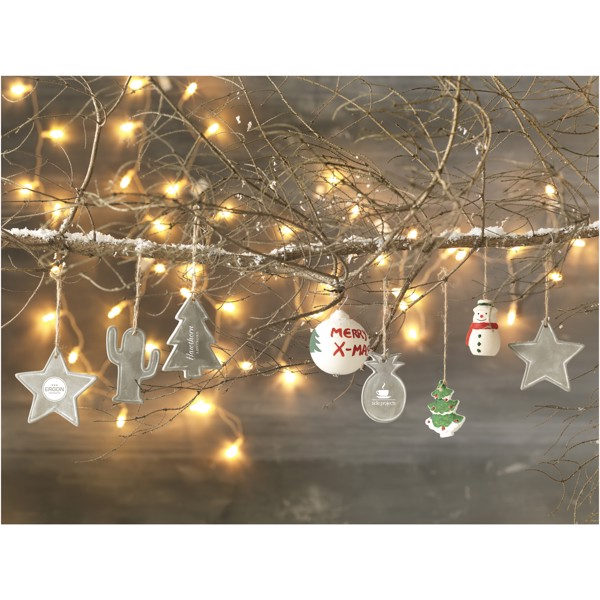 Okrasek v obliki božičnega drevesa Seasonal