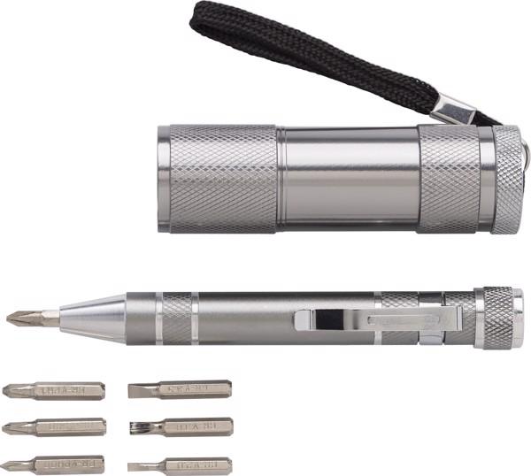 Aluminium allow tool kit - Silver