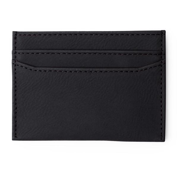 Purse and Card Holder Colik - Black