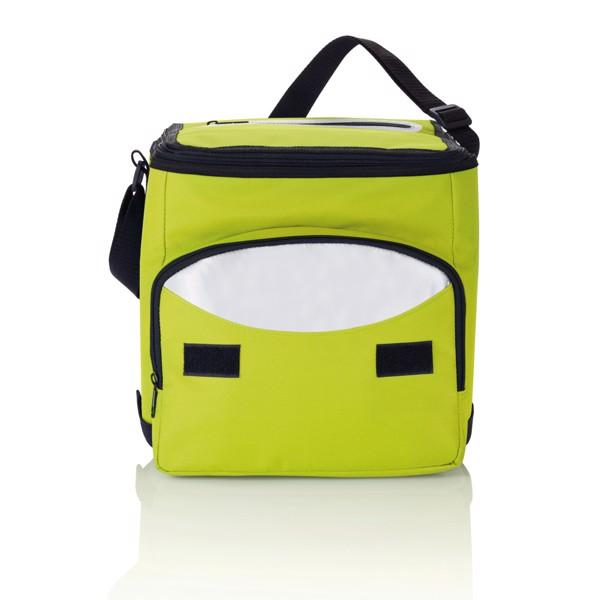 Foldable cooler bag - Green / Silver