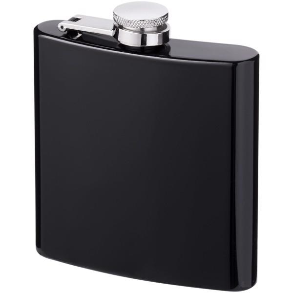 Elixer 175 ml hip flask - Solid black