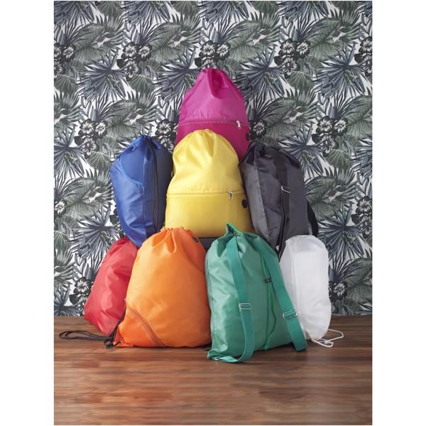 Oriole šnůrkový batoh spopruhy - Bílá