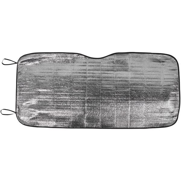 Stínítko Noson na přední sklo auta - Stříbrný