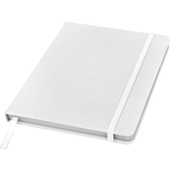 Spectrum A5 notebook with blank pages - White