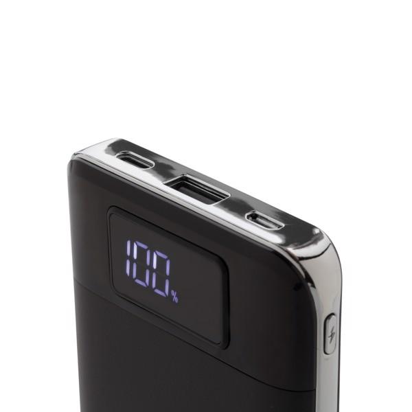 10 000 mAh powerbank 5W-os vezeték nélküli töltővel