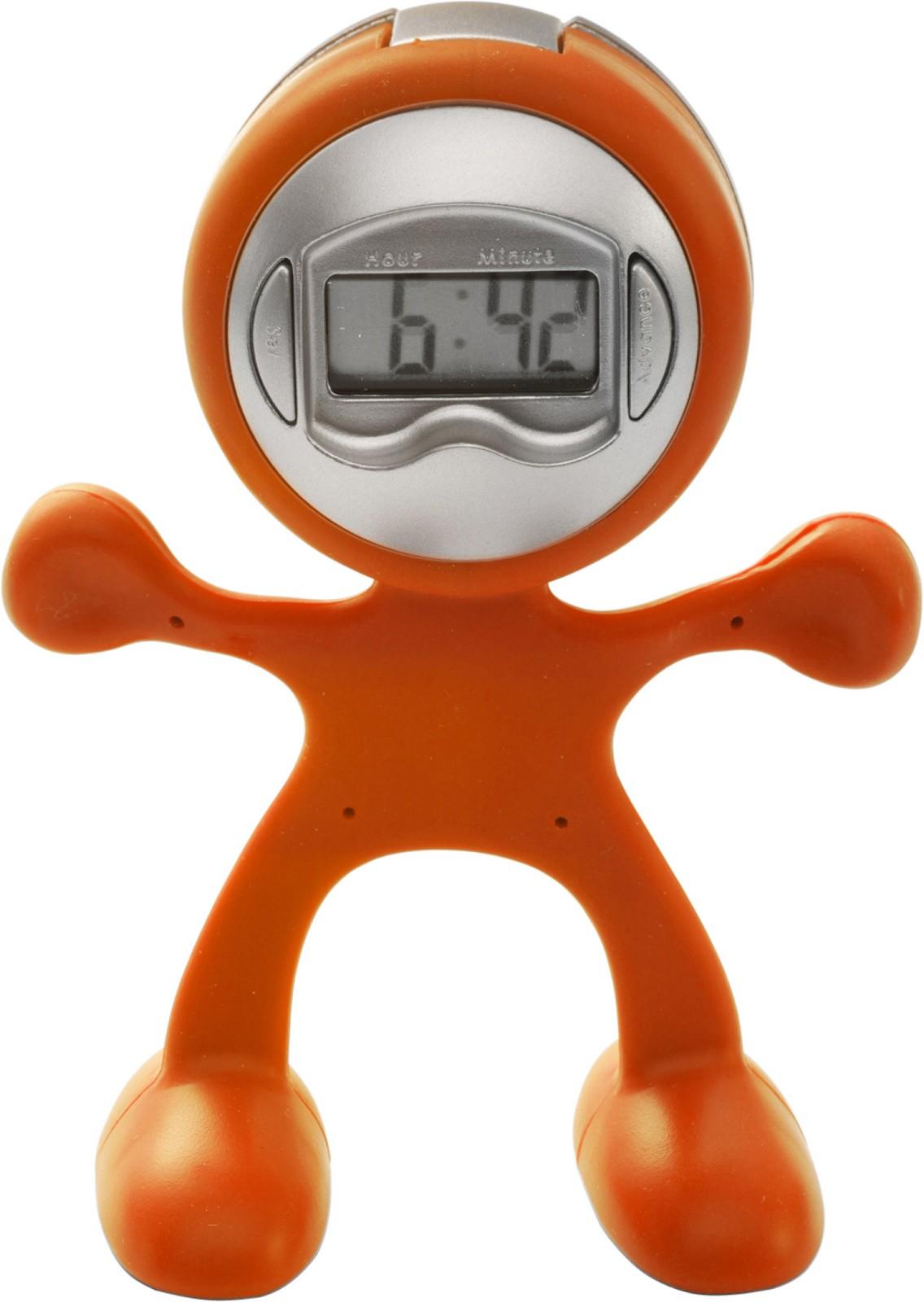 ABS clock - Orange