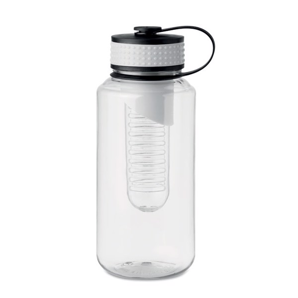 Trinkflasche Tritan 1l Minty - weiß