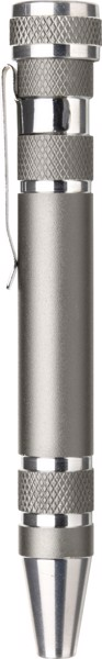 Aluminium pocket screwdriver - Grey