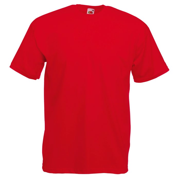 T-shirt 165 g/m² Value Weight T-Shirt 61-036-0 - Red / M