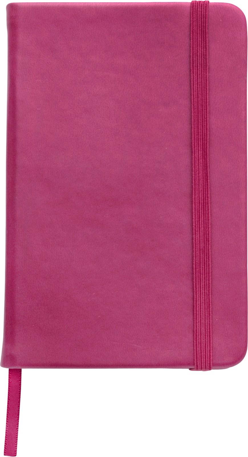 PU notebook - Pink