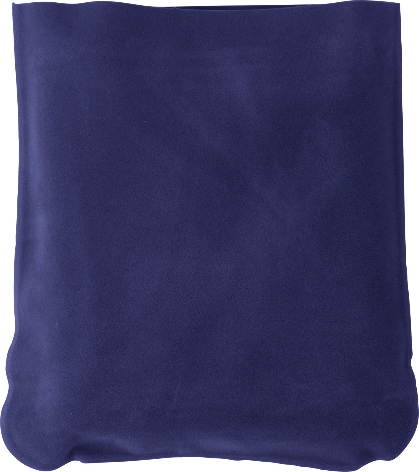 Velour travel cushion - Blue