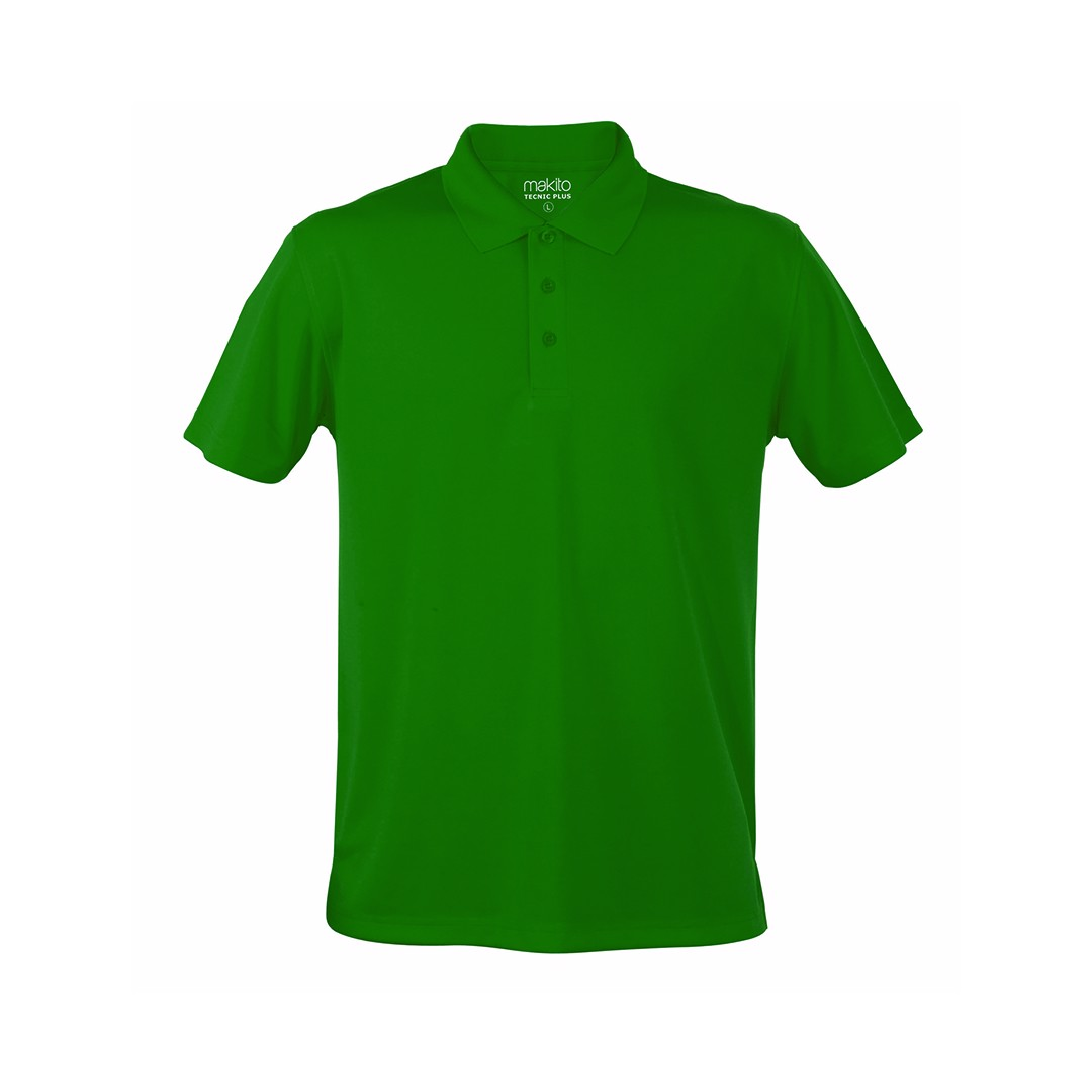 Polo Tecnic Plus - Verde / M