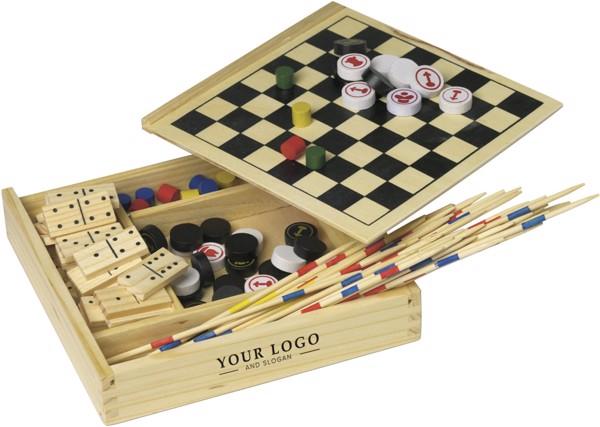 Set de 5 juegos de madera