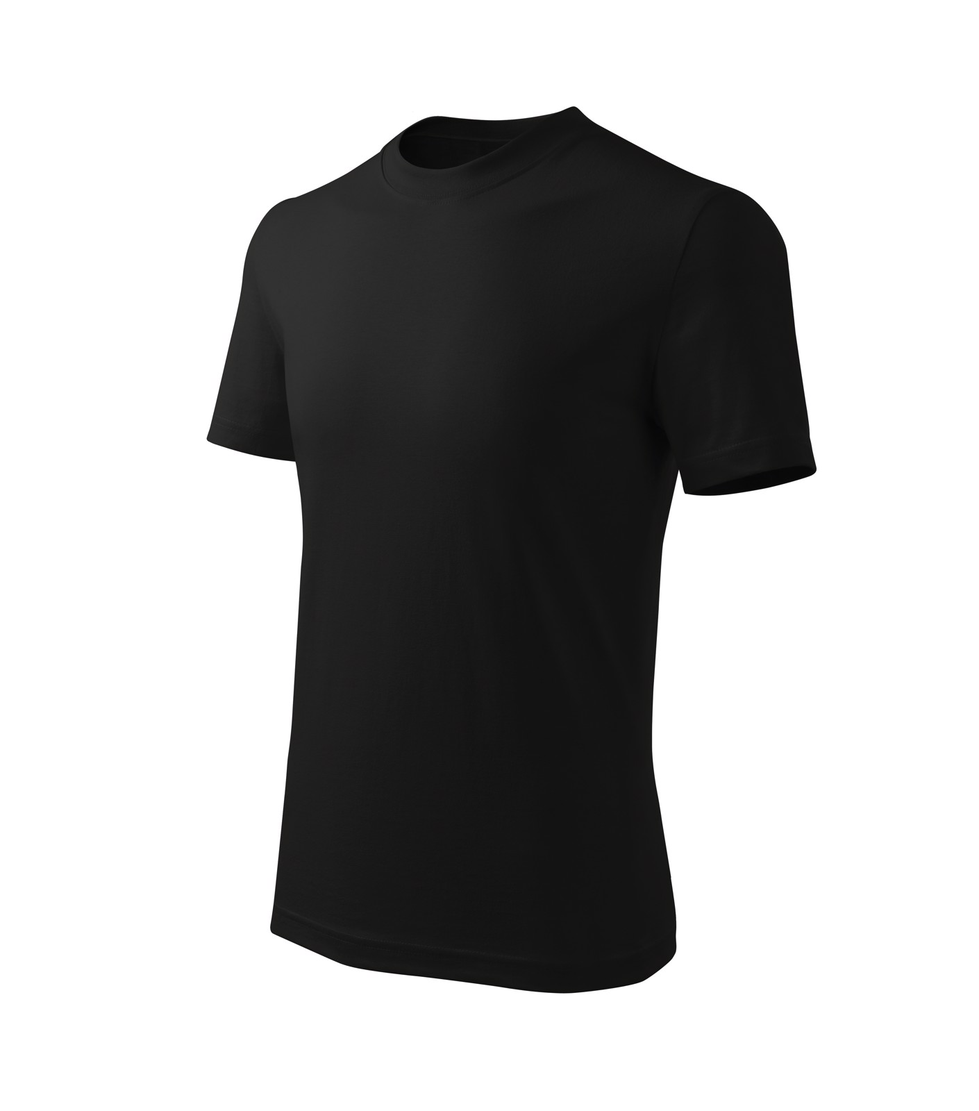 Tričko dětské Malfini Basic Free - Černá / 146 cm/10 let
