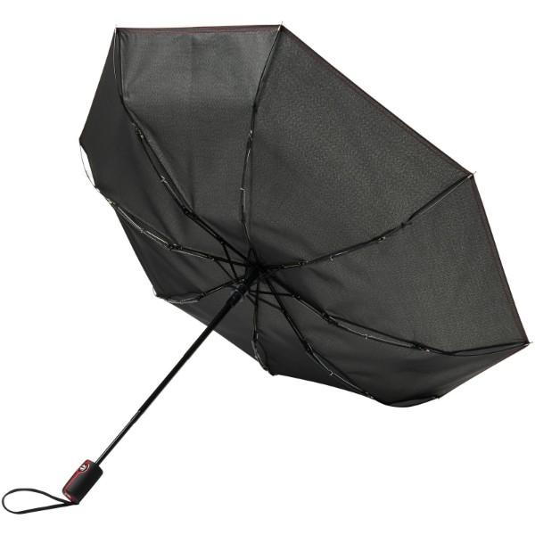 """21"""" skládací deštník Stark-mini s automatickým otvíráním/skládáním - Červená s efektem námrazy"""