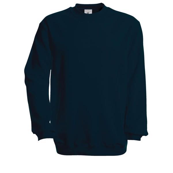 Mikina Set In Sweatshirt - Navy / 3XL
