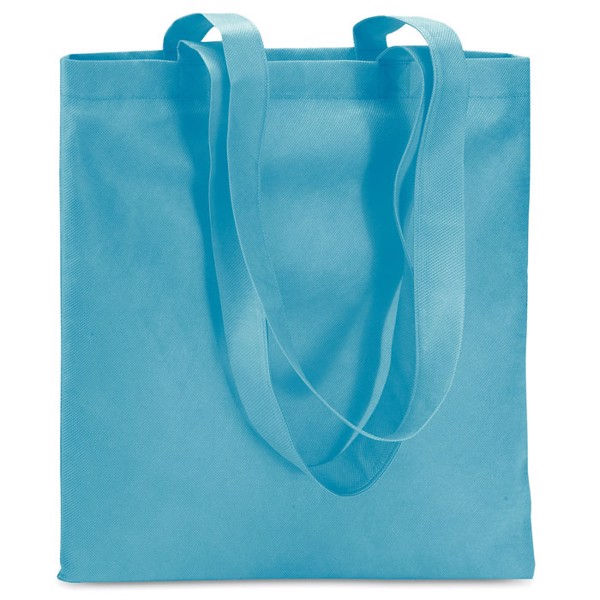 Shopping bag in nonwoven Totecolor - Turquoise