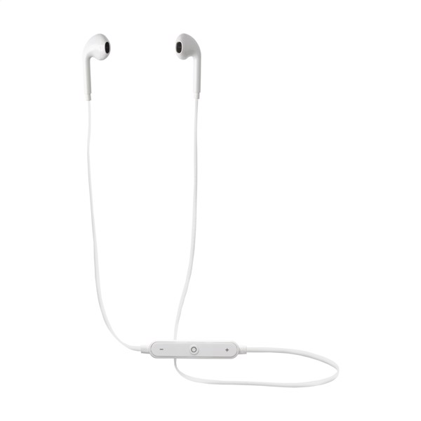 Bluetooth EarBuddies earphones - White