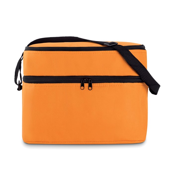 Cooler bag with 2 compartments Casey - Orange