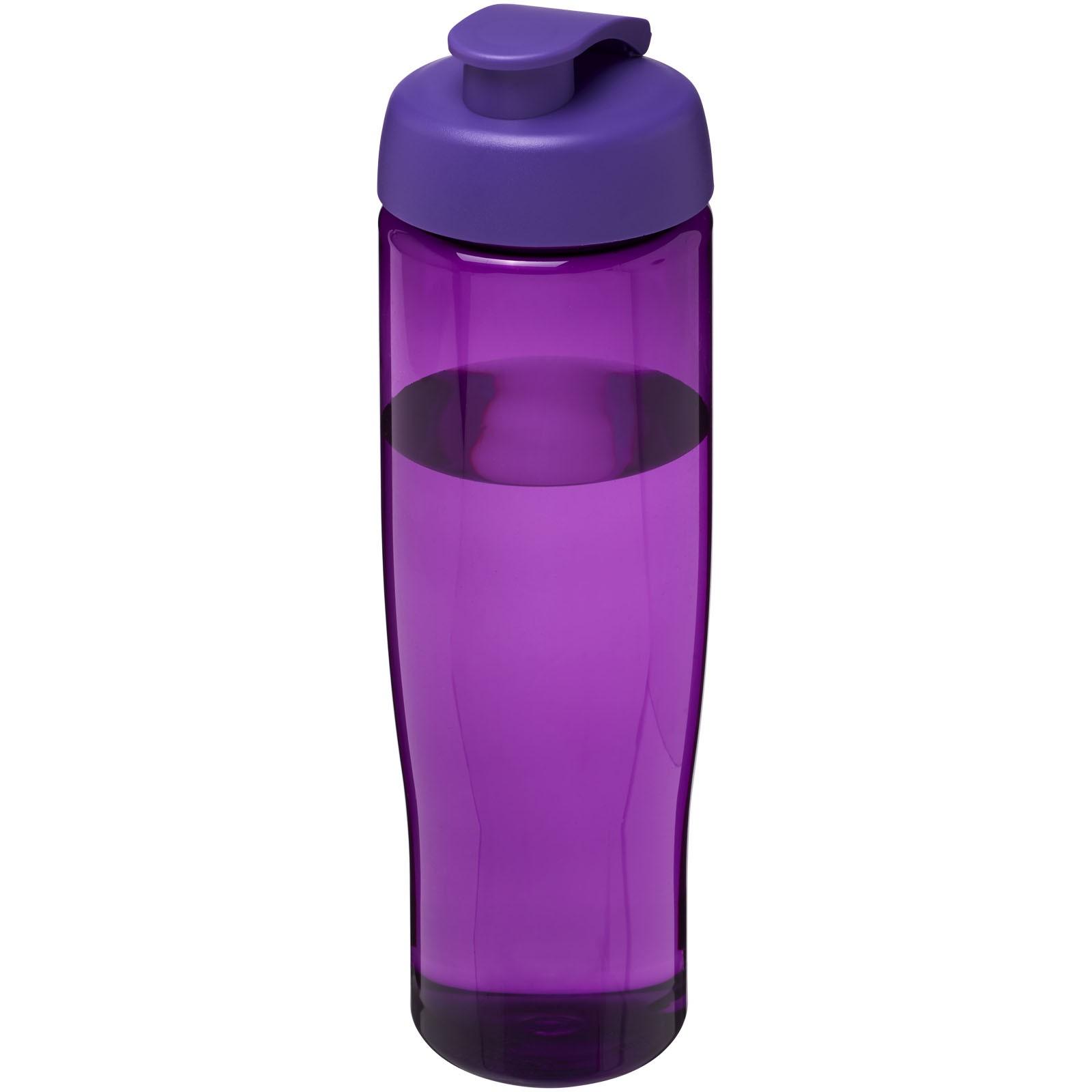 H2O Tempo® 700 ml flip lid sport bottle - Purple