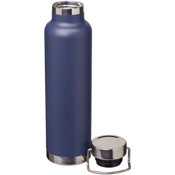 Thor 650 ml Kupfer-Vakuum Isolier-Sportflasche - navy