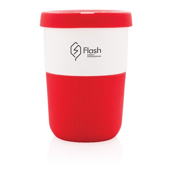 PLA kávésbögre 380 ml - Piros