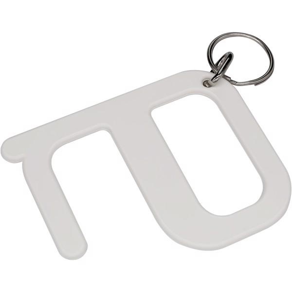 Hygienický klíč - Bílá