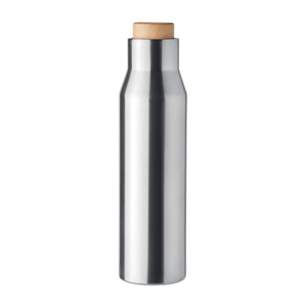 Botella termo 500ml Dudinka - plata mate