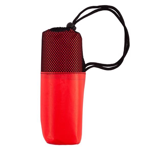 Peleryna przeciwdeszczowa dla dorosłych Rainfree - Czerwony