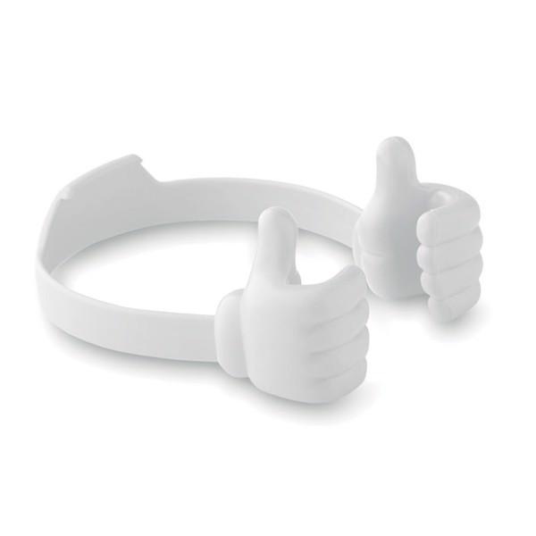 Thumbs up holder Tauera - White