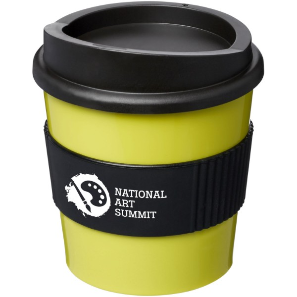 Americano® primo 250 ml tumbler with grip - Lime / Solid black
