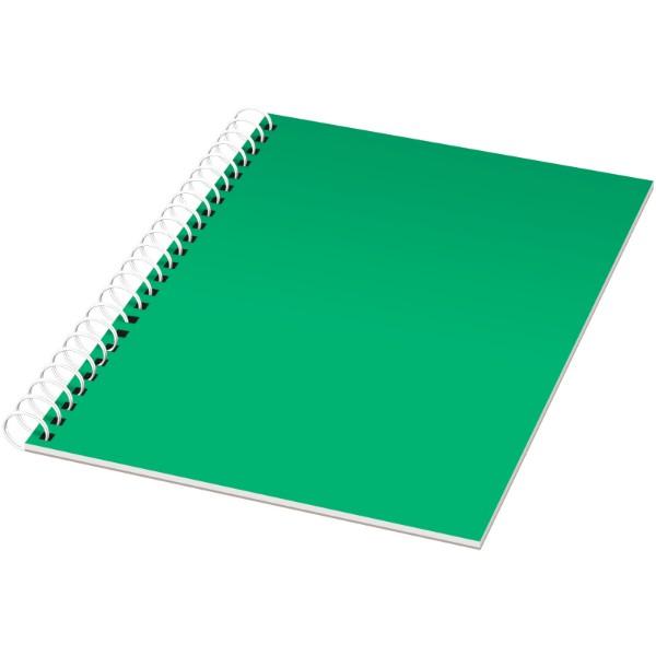 Poznámkový blok Rothko A5 - Zelená / Bílá / 50 pages