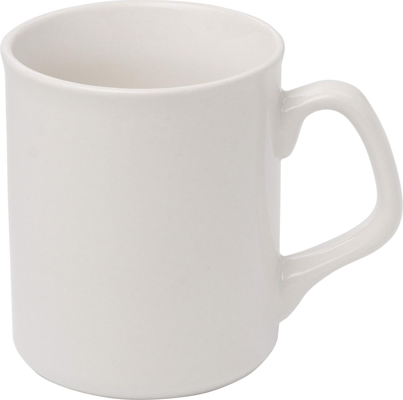 Porcelain mug - White