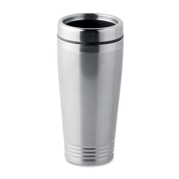 Double wall travel cup Rodeo Colour - Matt Silver