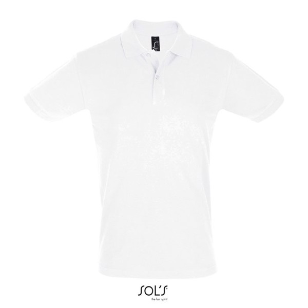 PERFECT-MEN POLO-180g Perfect Men - White / XXL