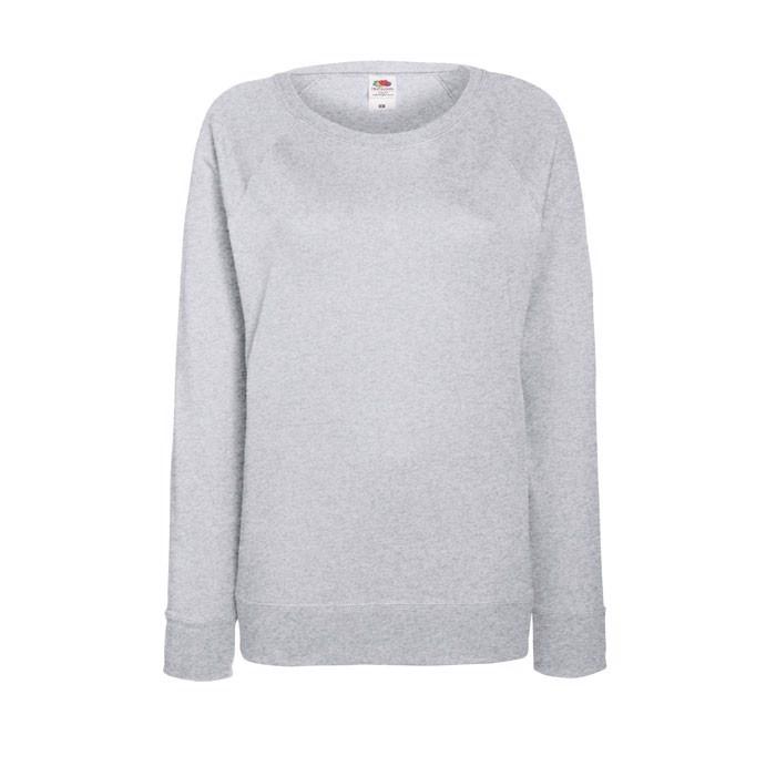 Dámská mikina Lady-Fit Light Raglan 62-146-0 - Grey Heather / XXL