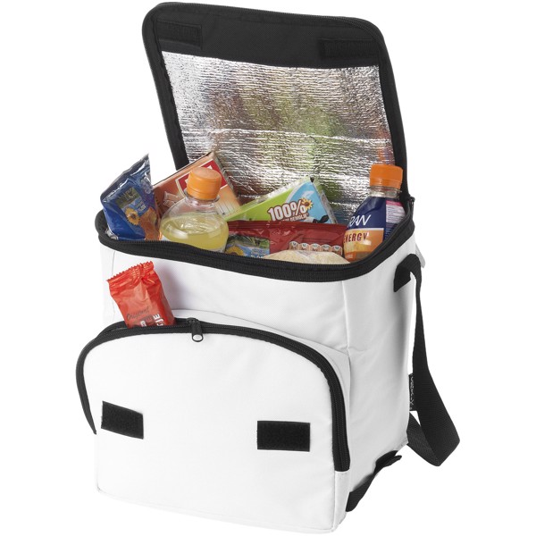 Stockholm foldable cooler bag - White