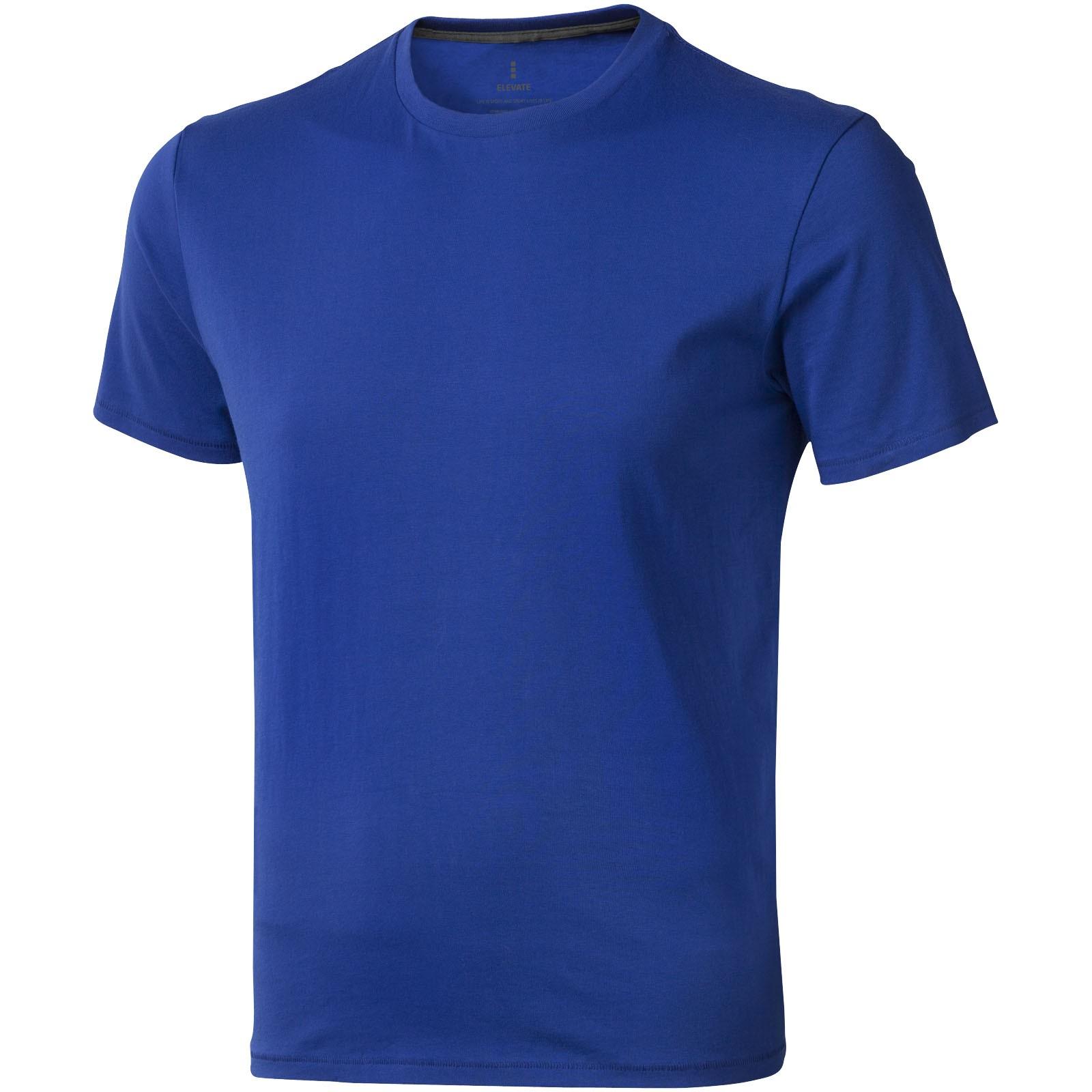 Nanaimo short sleeve men's t-shirt - Blue / XS
