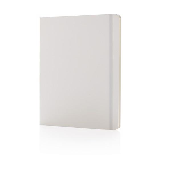 Standard B5 notebook hardcover XL - White