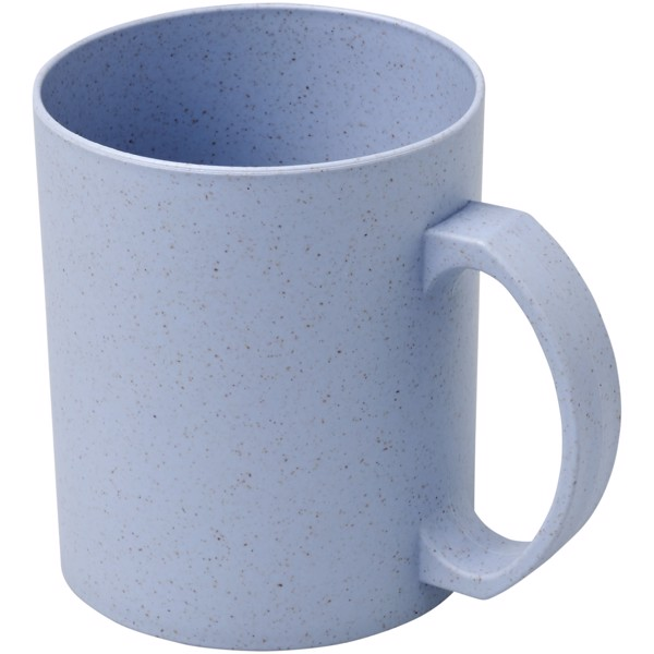 Pecos 350 ml wheat straw mug - Grey