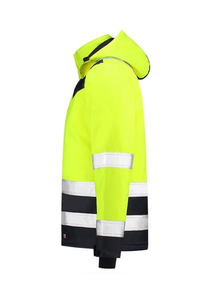 Pracovní bunda unisex Tricorp Midi Parka High Vis Bicolor - Fluorescenční Žlutá / 3XL
