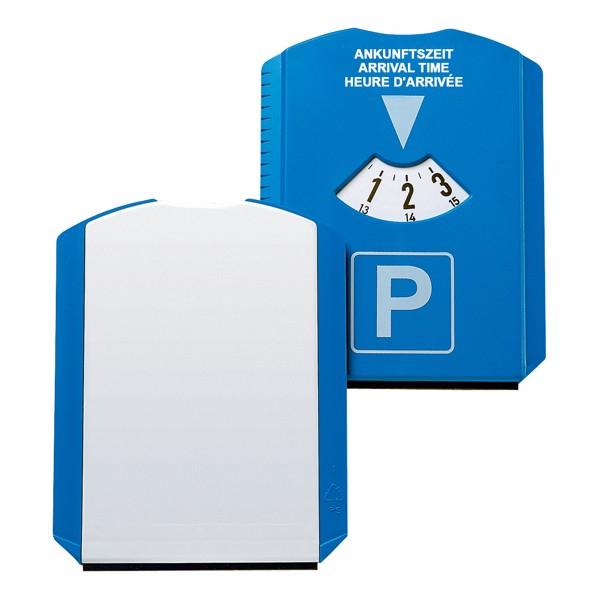 """Parking Disk """"Basic"""" - Blue / White"""