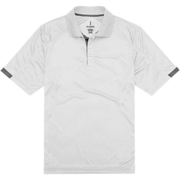Kiso short sleeve men's cool fit polo - White / L