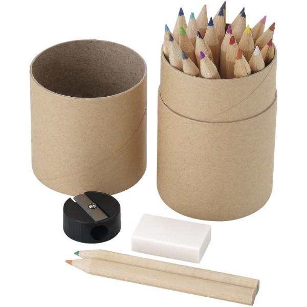 """Set de 26 lápices de colores """"Woodby"""""""
