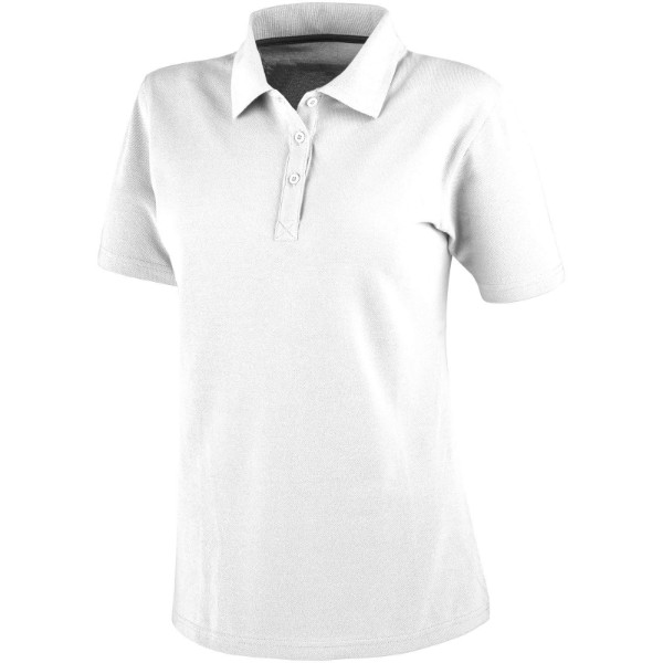 Primus short sleeve women's polo - White / XL