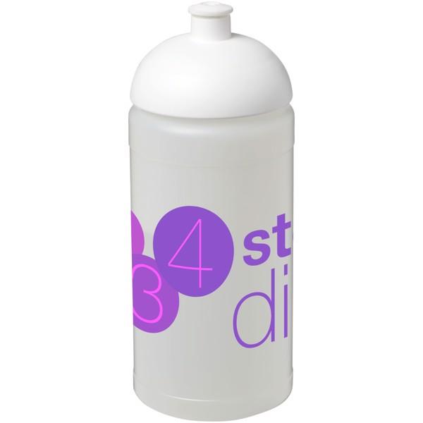 Baseline® Plus 500 ml dome lid sport bottle - Transparent / White