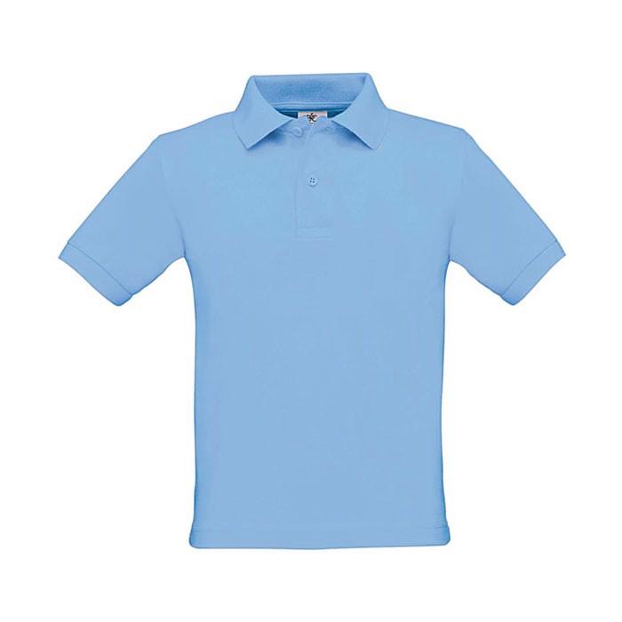 Kids Polo Shirt 180 g/m2 Safran Kids Polo Pk486 - Sky Blue / M