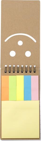 Cardboard sticky note set
