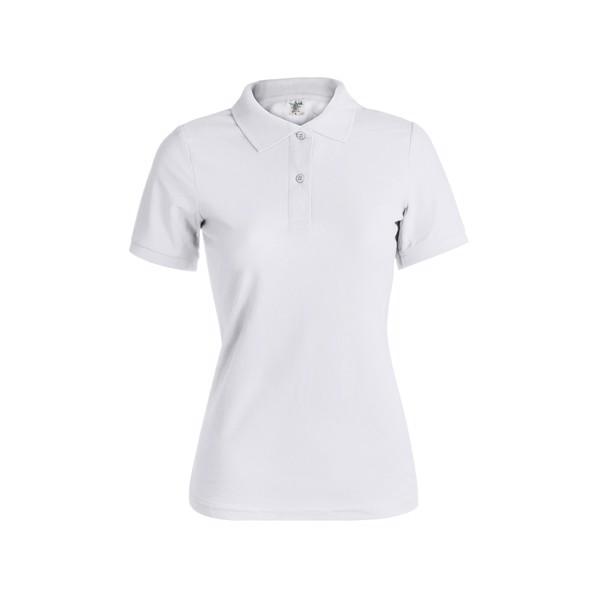 "Polo Mulher Branco ""keya"" WPS180 - Branco / S"