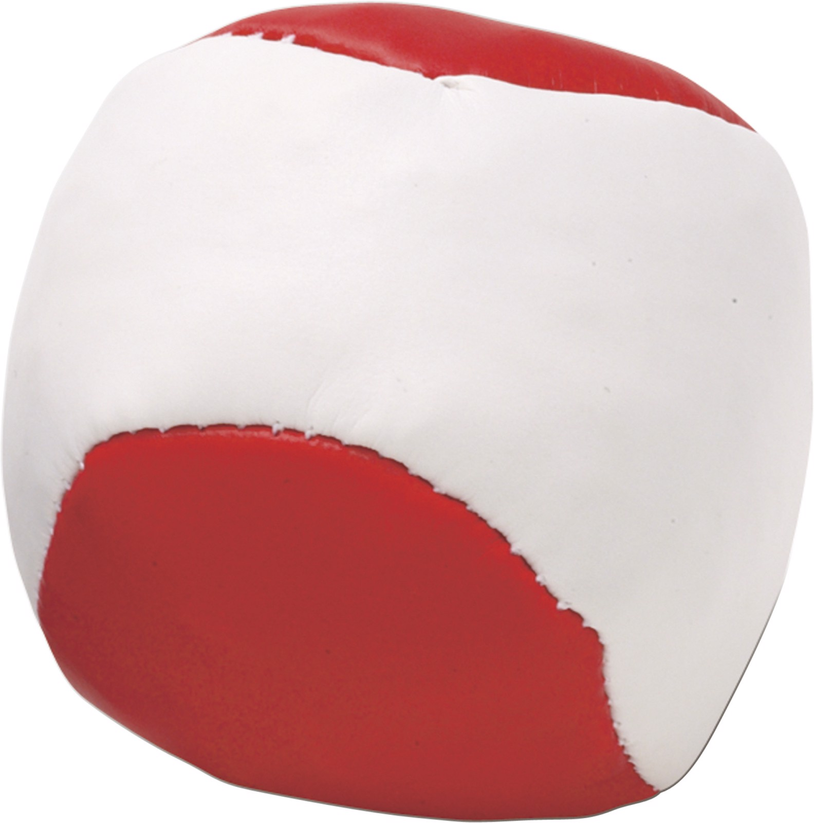 Imitation leather juggling ball - Red